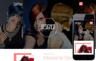 Coiffeur a Beauty and Spa Category Bootstrap Responsive Web Template