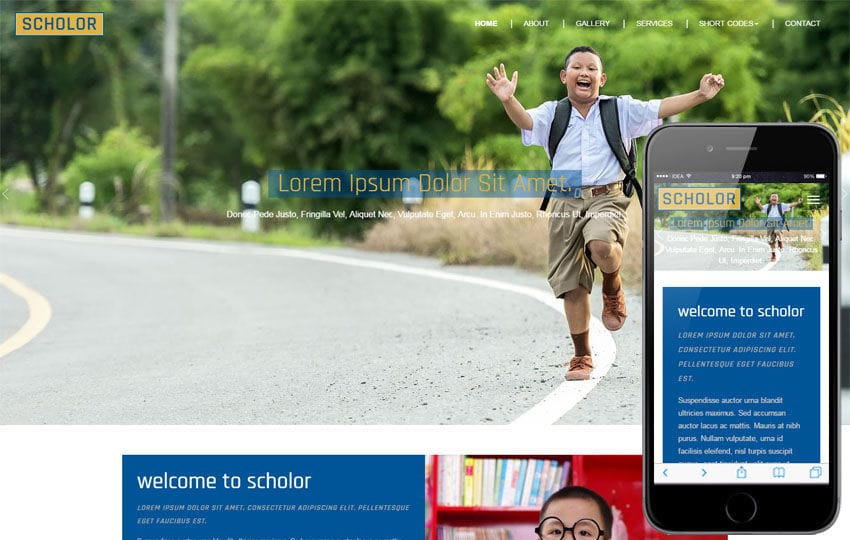 Scholar an Education Category Flat Bootstrap Responsive Web Template