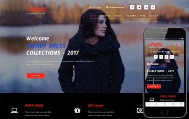 Trends a Fashion Category Bootstrap Responsive Web Template