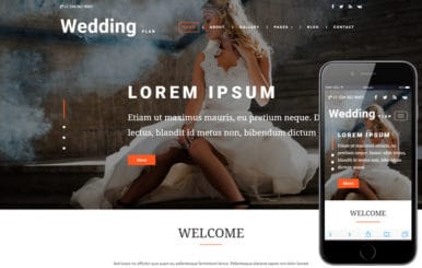 Wedding Plan a Wedding Category Bootstrap Responsive Web Template