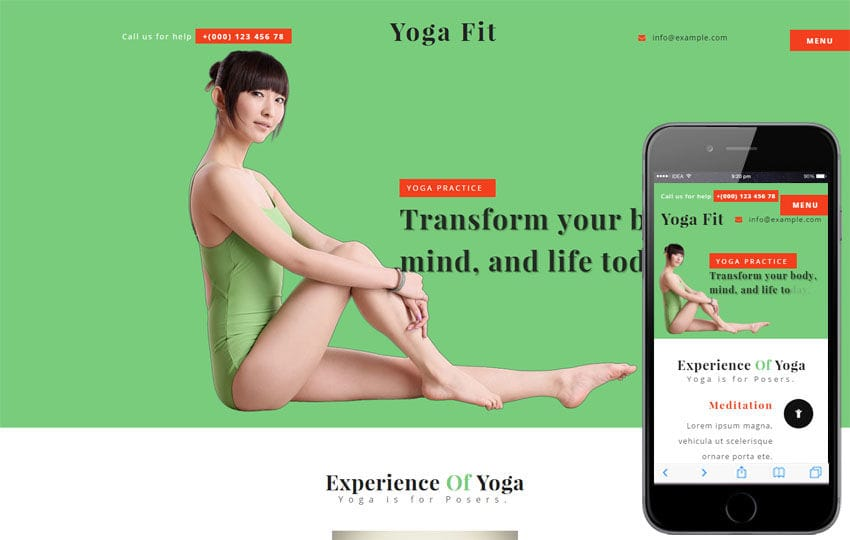 Yoga Fit a Sports Category Flat Bootstrap Responsive Web Template