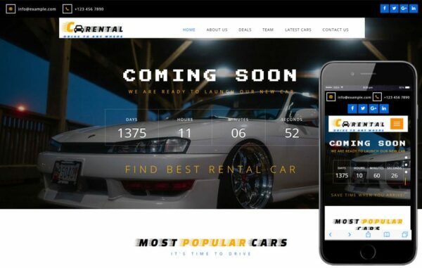 Car Rental an Autos and Transportation Flat Bootstrap Responsive Web Template