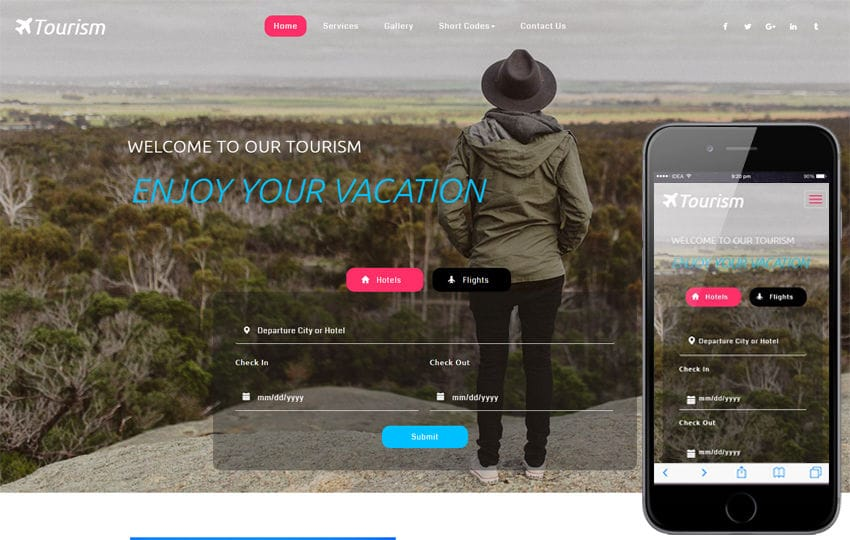 Tourism a Travel Category Flat Bootstrap Responsive Web Template