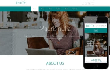 Entity a Corporate Category Bootstrap Responsive Web Template