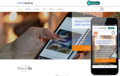 Online Banking a Banking Category Bootstrap Responsive Web Template