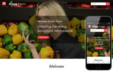 Green Farm an Agriculture Category Bootstrap Responsive Web Template
