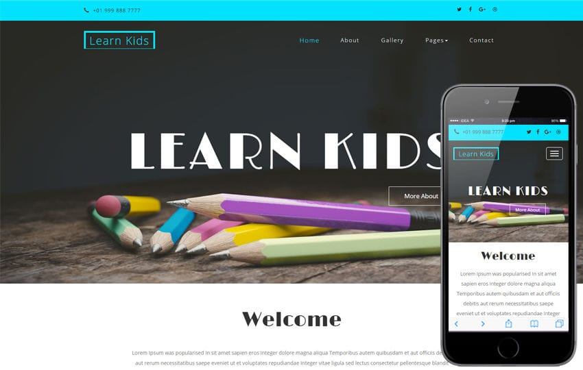 Learn Kids an Education School Category Bootstrap Responsive Web Template