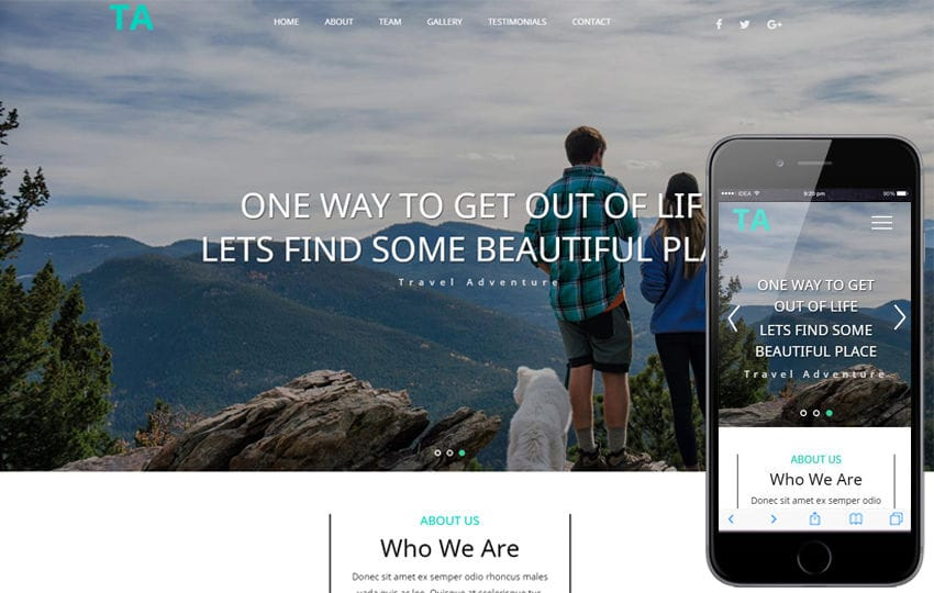Travel Adventure a Travel Category Bootstrap Responsive Web Template