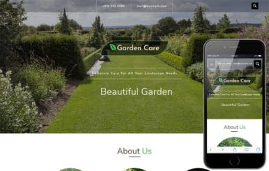 Garden Care an Agriculture Category Bootstrap Responsive Web Template