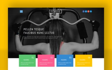 Fitness Goals a Sports Category Bootstrap Responsive Web Template