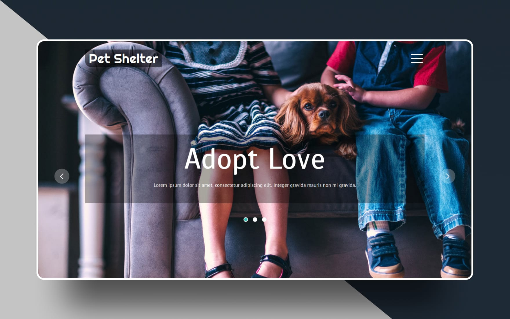 Pet Shelter an Animal Category Bootstrap Responsive Web Template