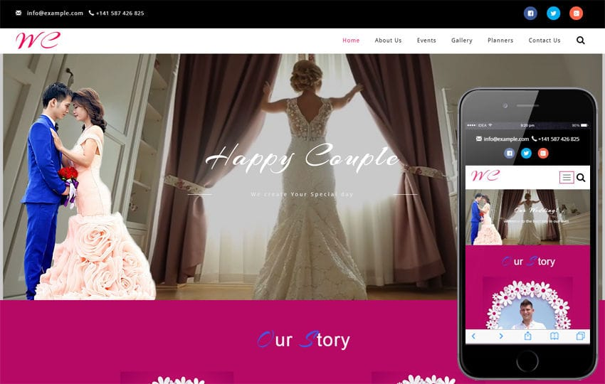 Wedding Ceremony a Wedding Category Bootstrap Responsive Web Template