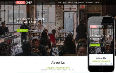 Food Chef a Hotel Category Bootstrap Responsive Web Template