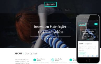 Hair Stylist a Beauty and Spa Category Bootstrap Responsive Web Template