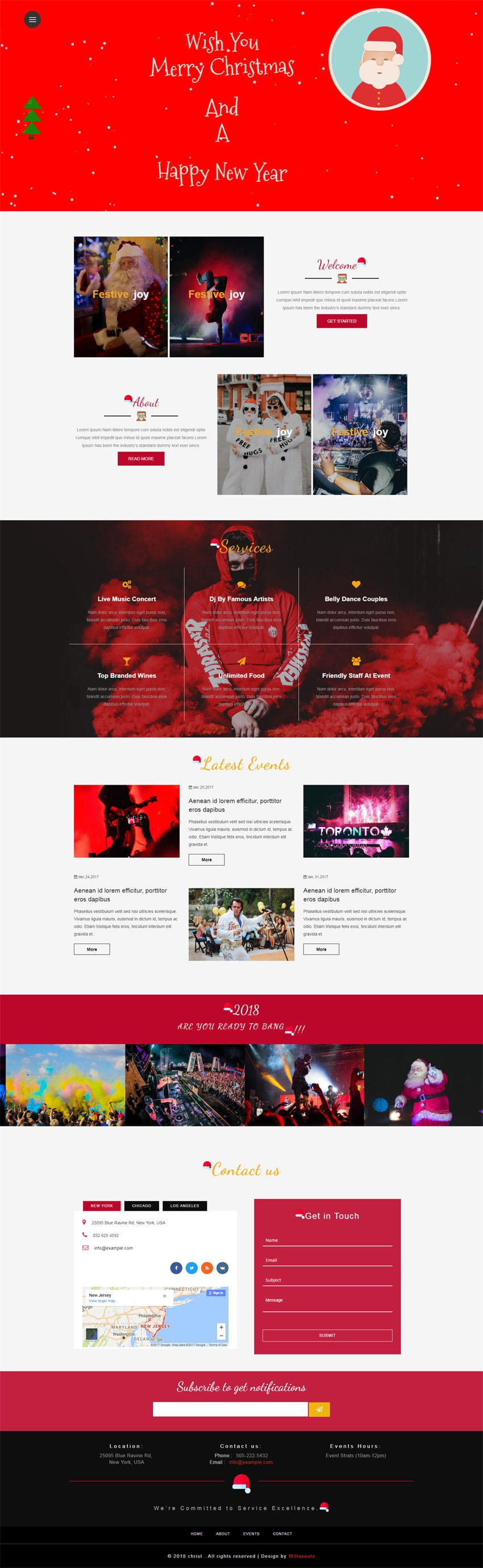 Christ an Entertainment Category Bootstrap Responsive Web Template