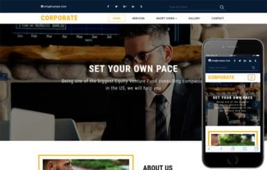 Corporate a Corporate Business Category Bootstrap Responsive Web Template
