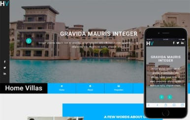 Home Villas a Real Estate Category Bootstrap Responsive Web Template