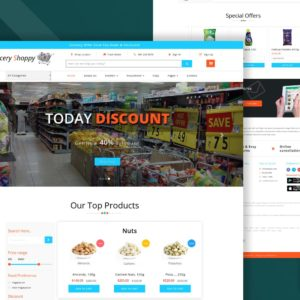Grocery-shop-website-templates
