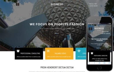 Business Pro Corporate Category Bootstrap Responsive Web Template