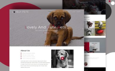 Lovely Pets Animals Category Bootstrap Responsive Web Template