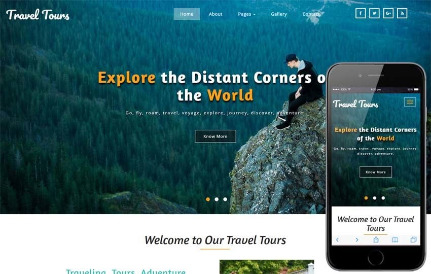 Travel Tours Travel Category Bootstrap Responsive Web Template