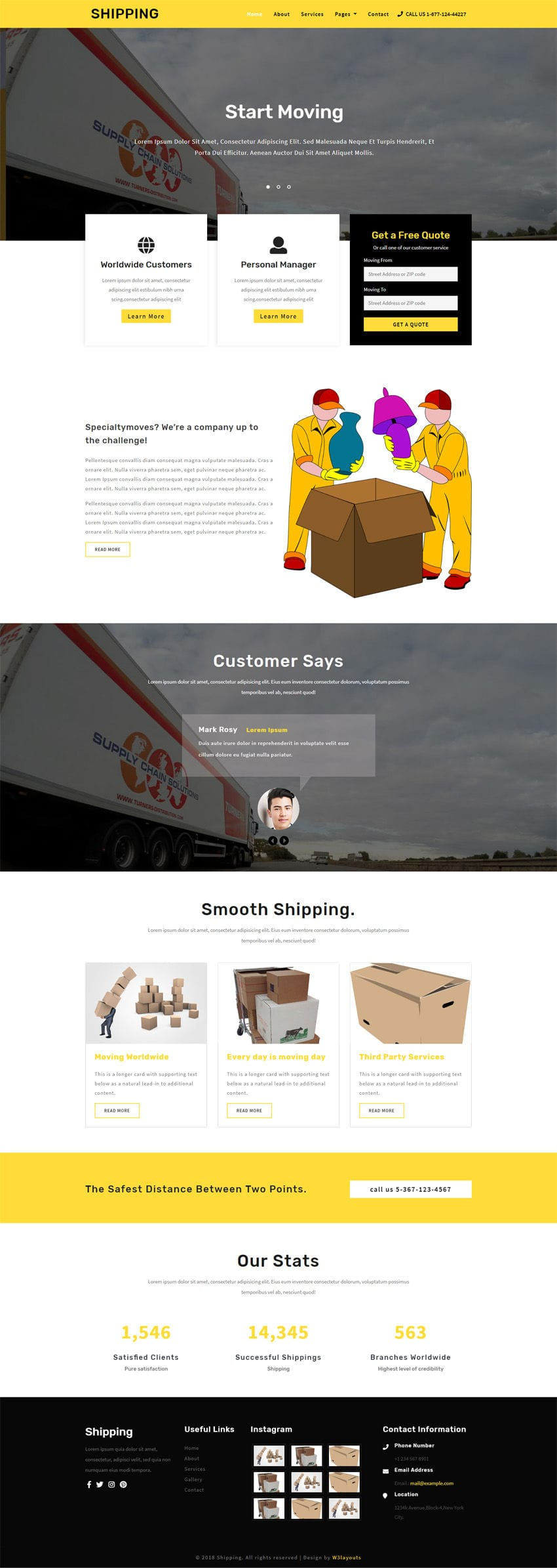 Shipping Transportation Category Bootstrap Responsive Web Template.It is entirely built in Bootstrap framework, HTML5, CSS3 and Jquery.