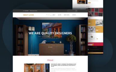 best look website template