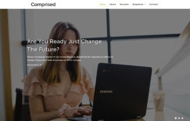 Comprised Corporate Category Bootstrap Responsive Web Template