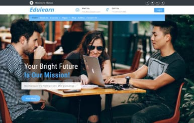 Edulearn an Education Category Bootstrap Responsive Web Template