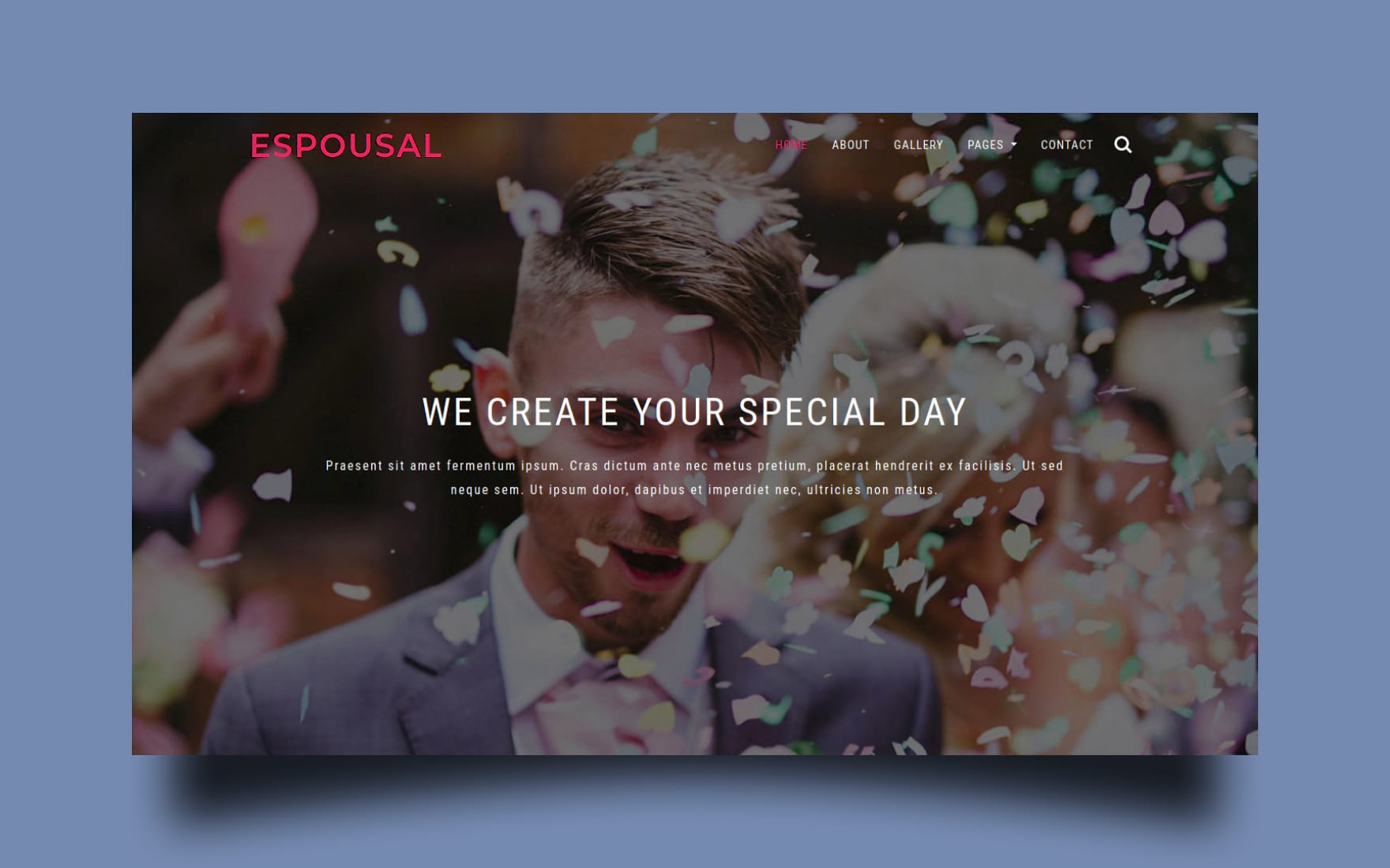 Espousal a Wedding Category Bootstrap Responsive Web Template.
