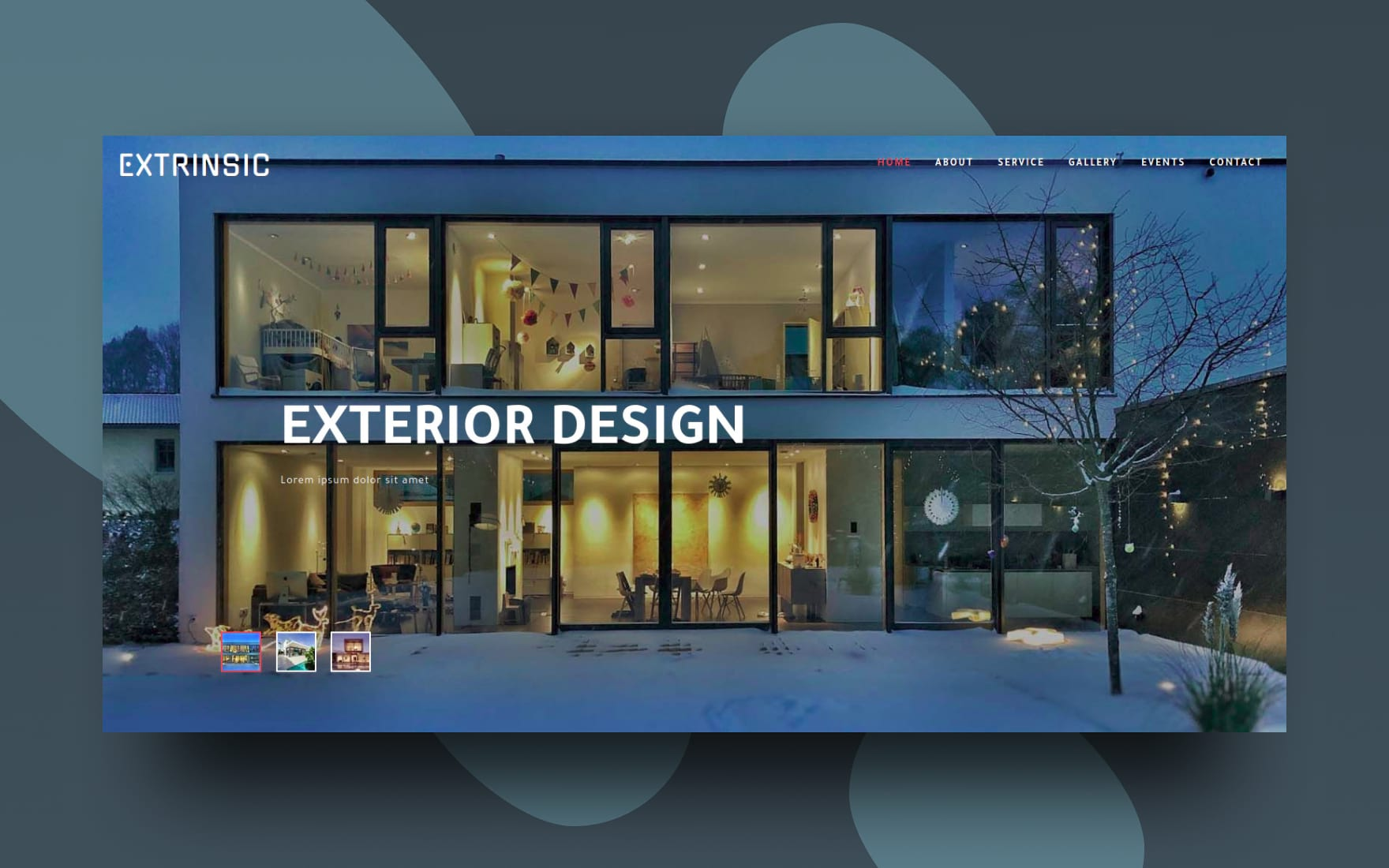 Extrinsic Exterior Category Flat Bootstrap Responsive Web Template