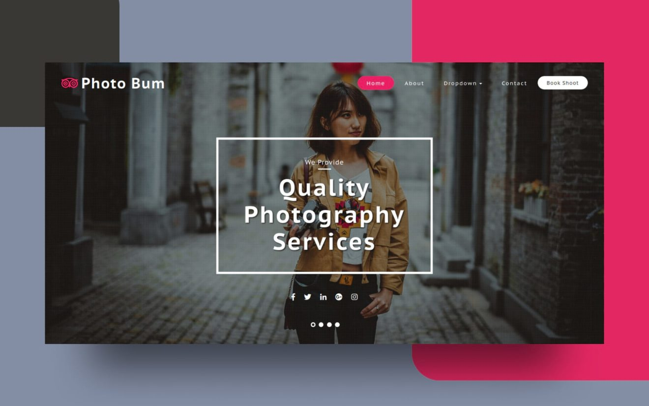 Photo Bum Photo Gallery Category Bootstrap Responsive Web Template.