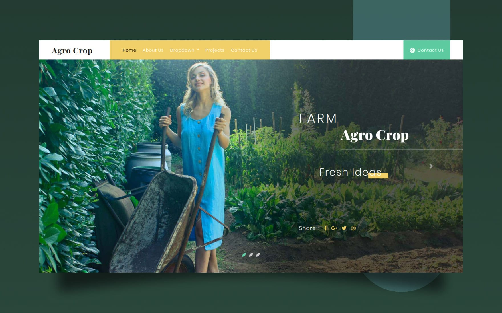 Agro Crop Agriculture Category Bootstrap Responsive Web Template.