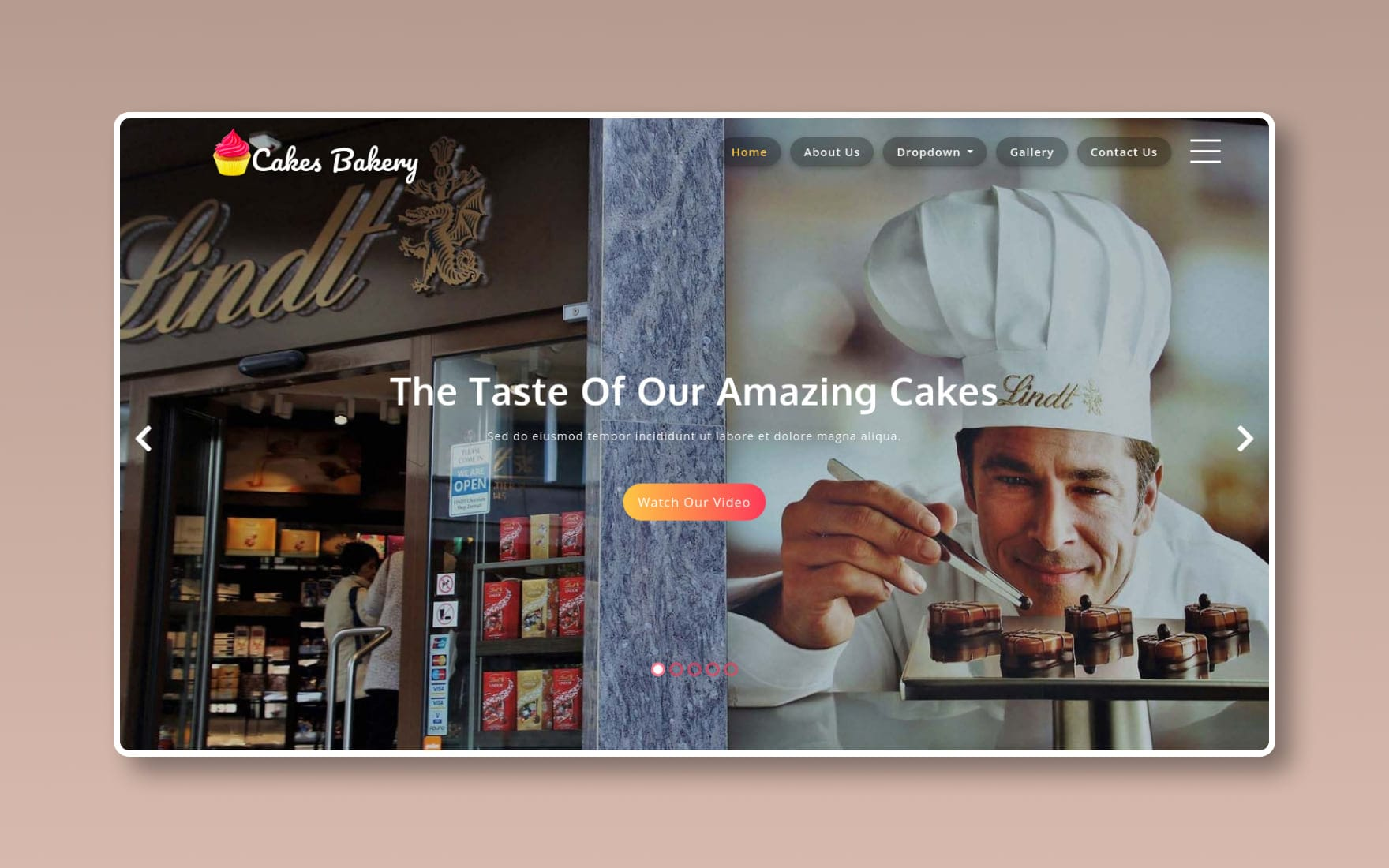 Cakes Bakery – Restaurants Category Bootstrap Responsive Web Template