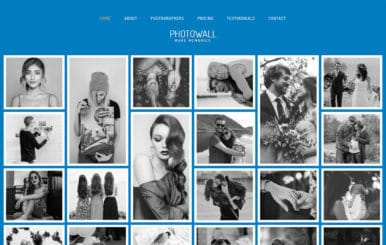 PhotoWall Photo Gallery Category Bootstrap Responsive Web Template.