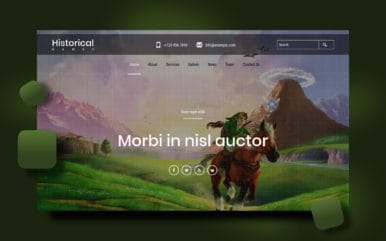 Historical Games a Games Category Flat Bootstrap Responsive Web Template