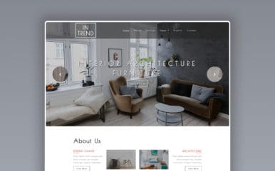 Intrend Interior Category Bootstrap Responsive Web Template.