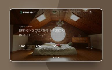 inwardly website template