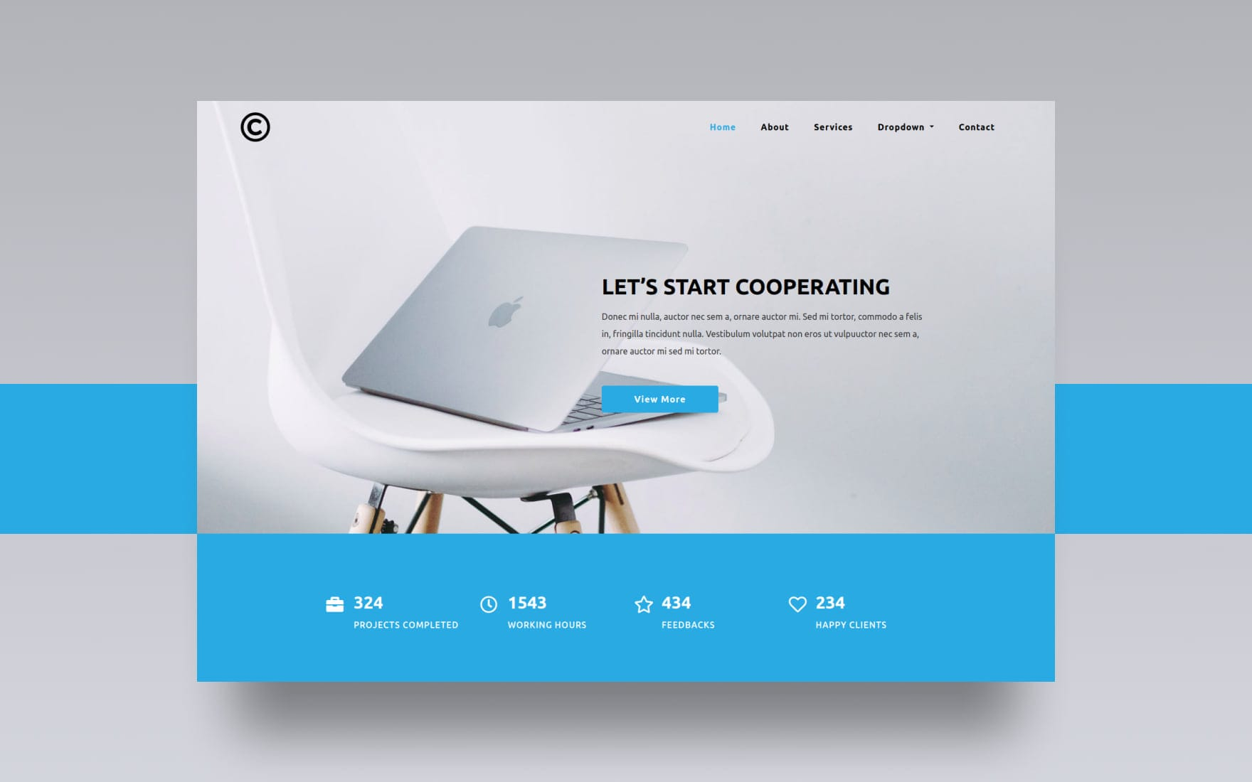 Pervasive Corporate Category Bootstrap Responsive Web Template.