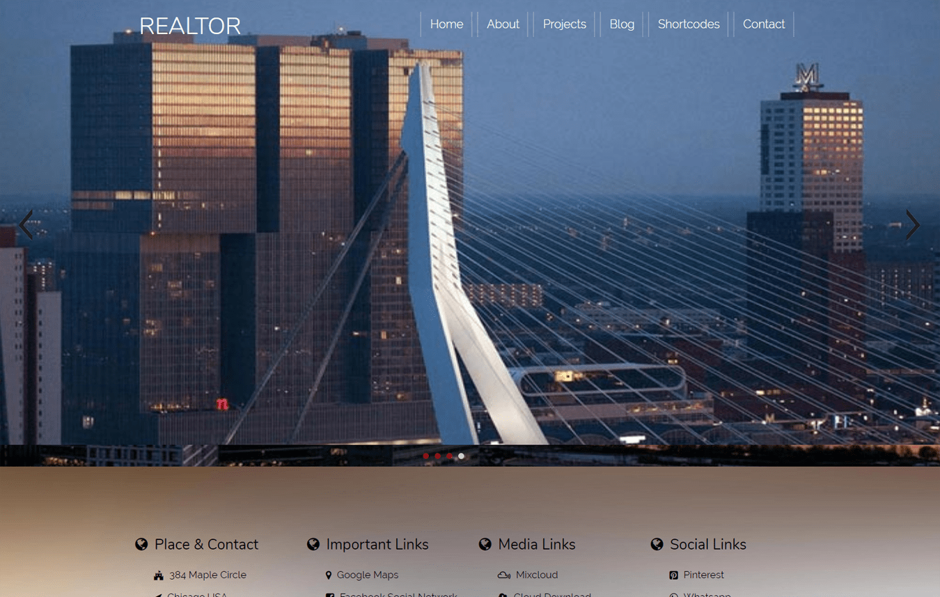 Realtor a Real Estate Category Flat Bootstrap Responsive Web Template
