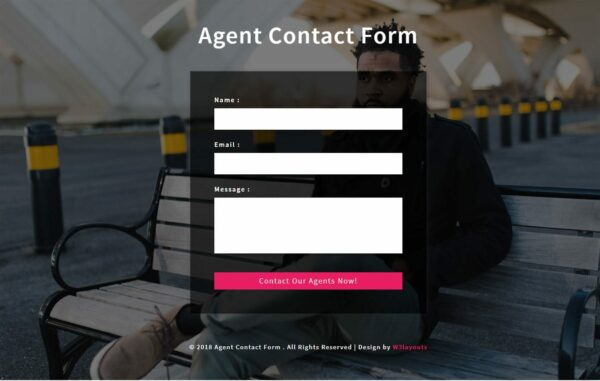 Agent Contact Form