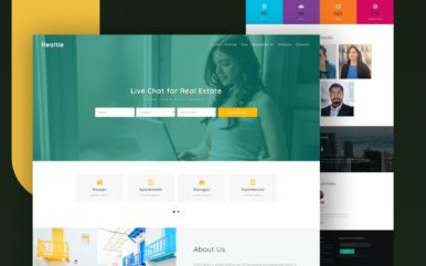 realtie website template