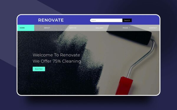 renovate website template