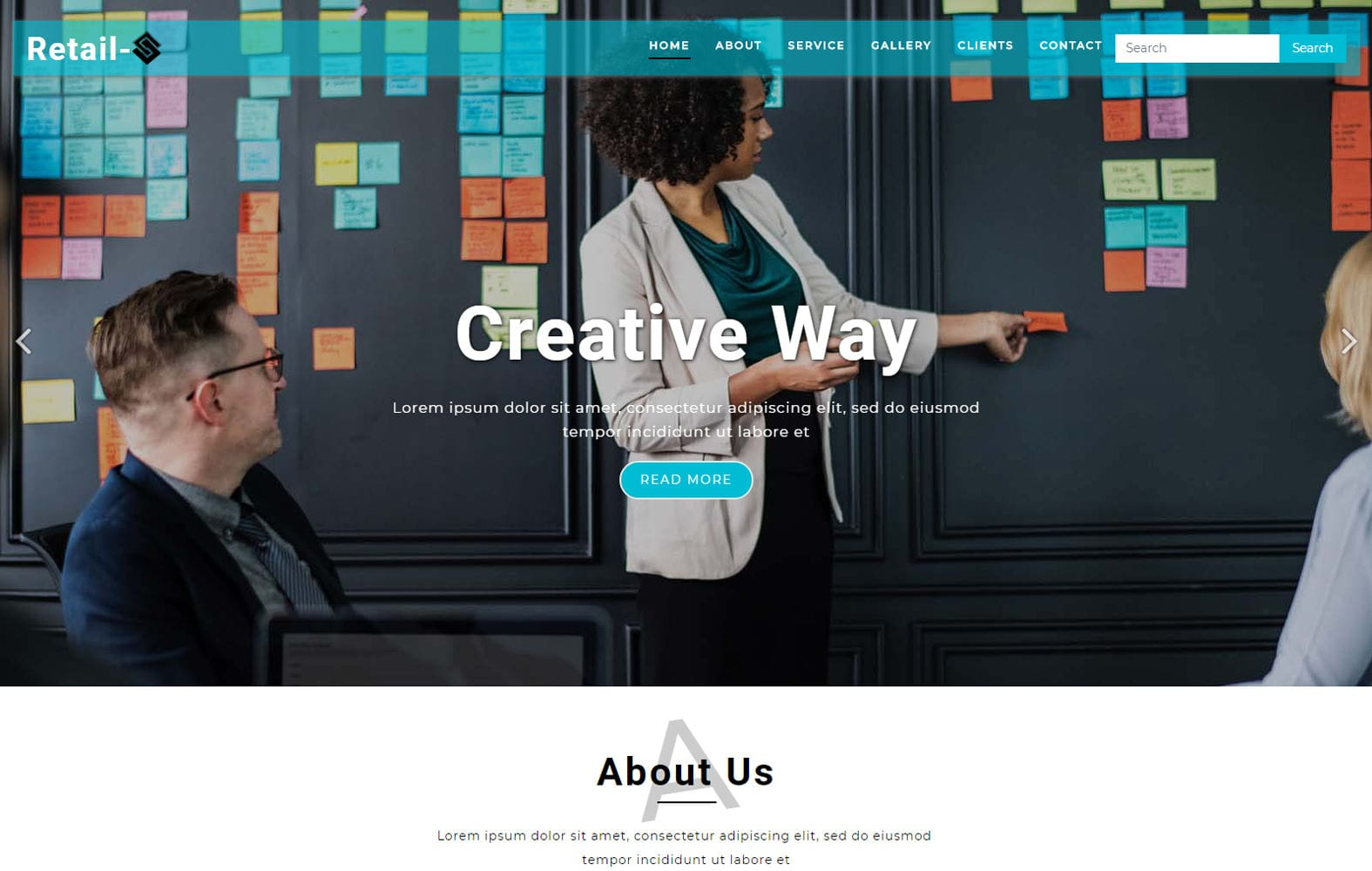 Retail a Corporate Category Bootstrap Responsive Web Template