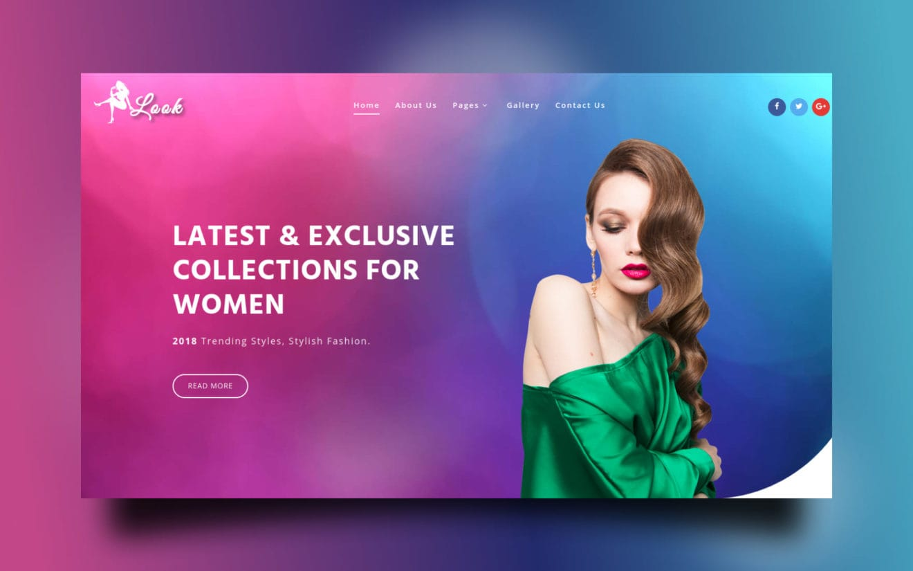 Look Fashion Category Bootstrap Responsive Web Template.