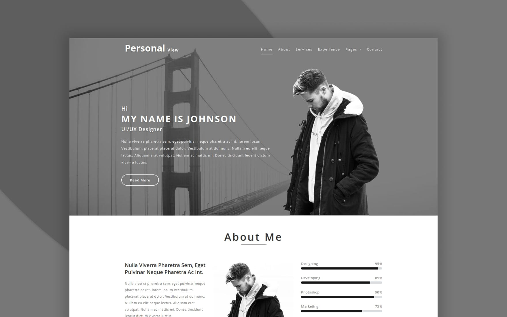 personal-view-web-templates