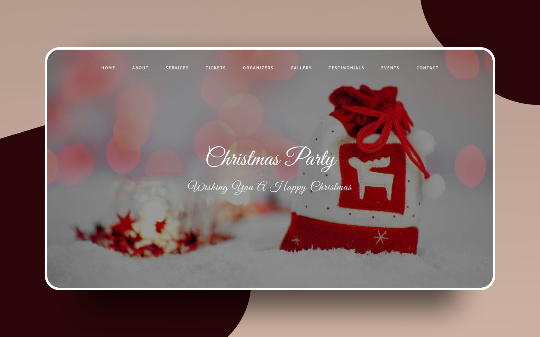 Christmas Party an Entertainment Category Bootstrap Responsive Web Template
