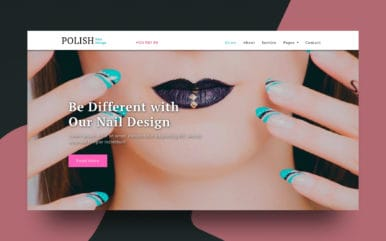 Polish a Fashion Category Bootstrap Responsive Web Template