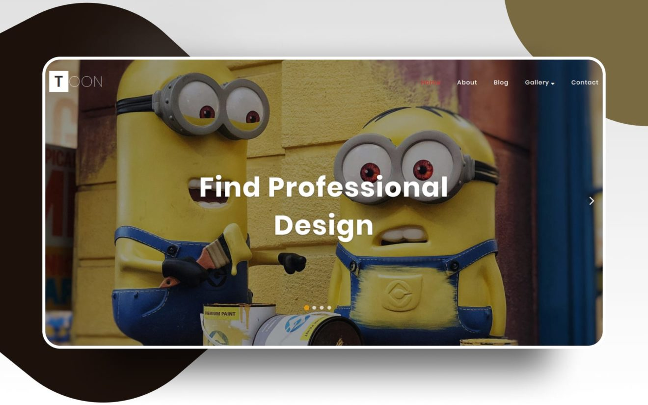Toon Entertainment Category Bootstrap Responsive Web Template.