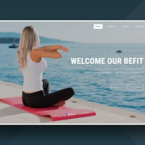 befit website template